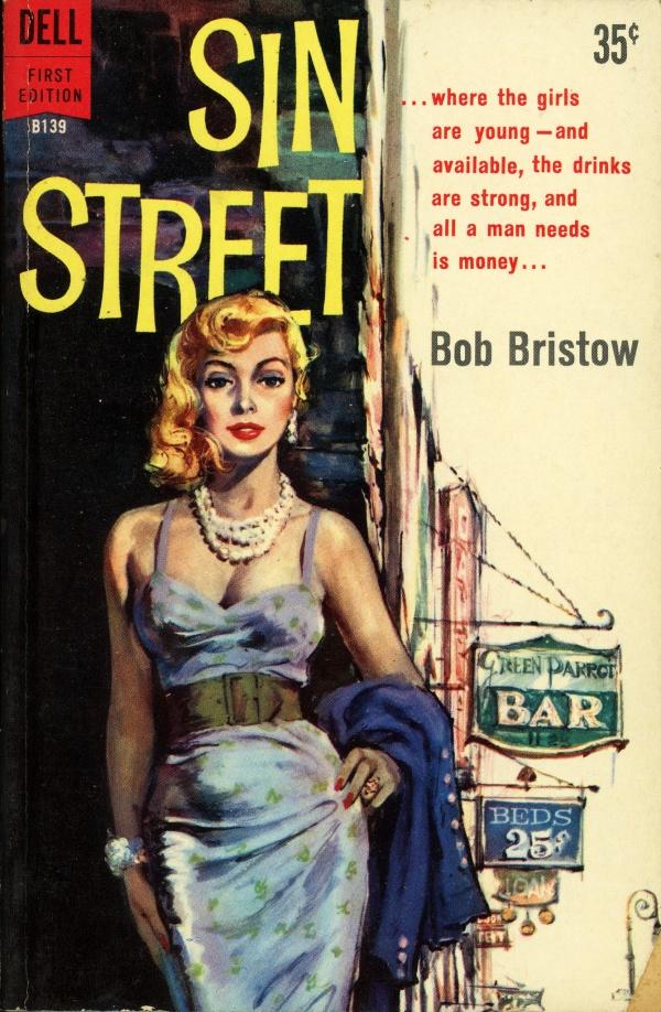 Dell Books B139 - Bob Bristow - Sin Street