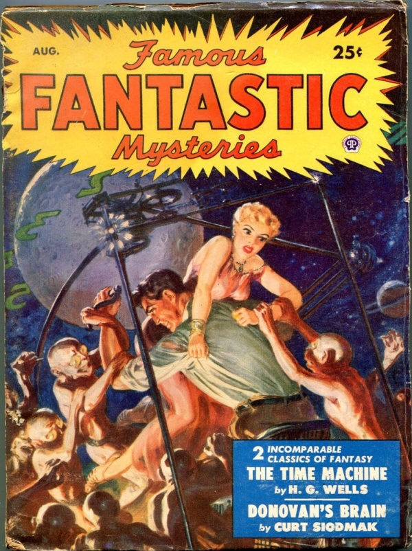 Famous Fantastic Mysteries August 1950