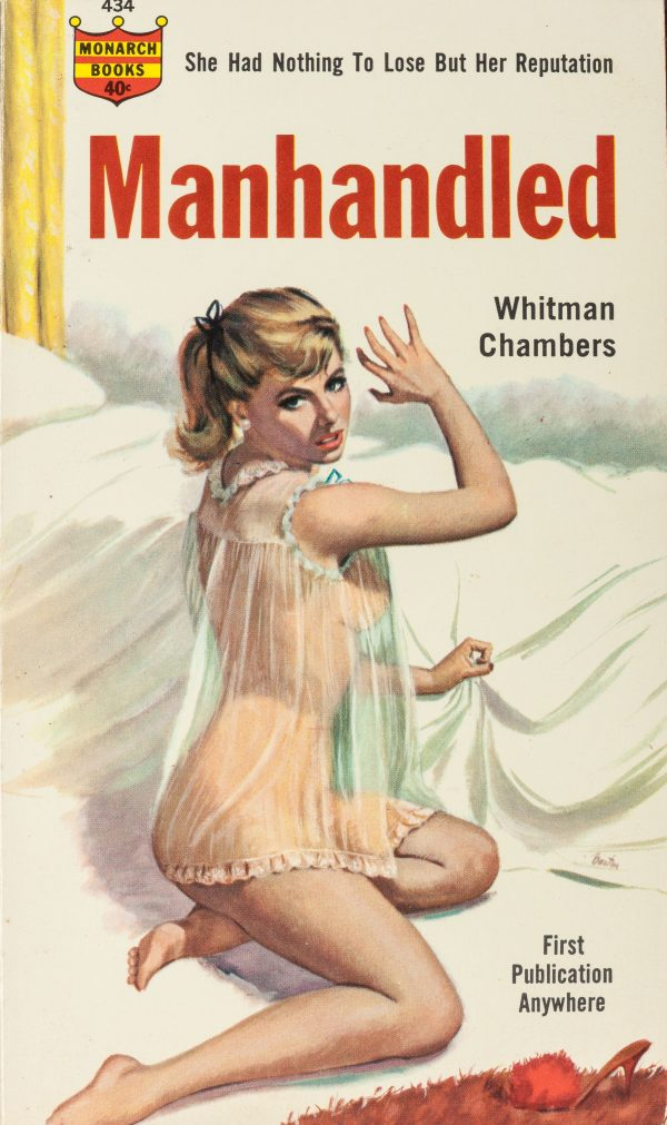 Manhandled by Whitman Chambers, Monarch #434, 1964