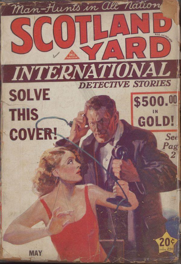 Scotland Yard Detective Stories May 1931