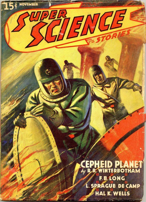 Super Science Stories November 1940
