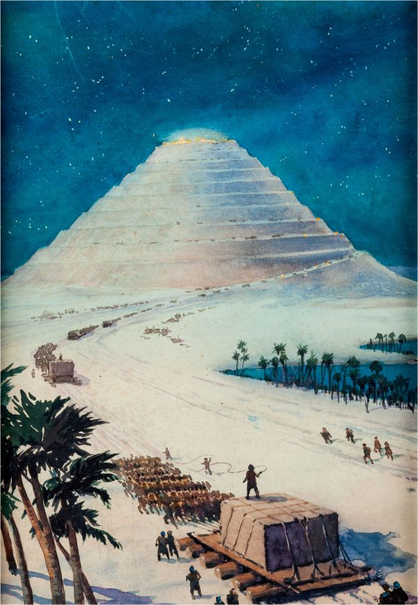 Wonders of the Ancient World Building the Great Pyramid