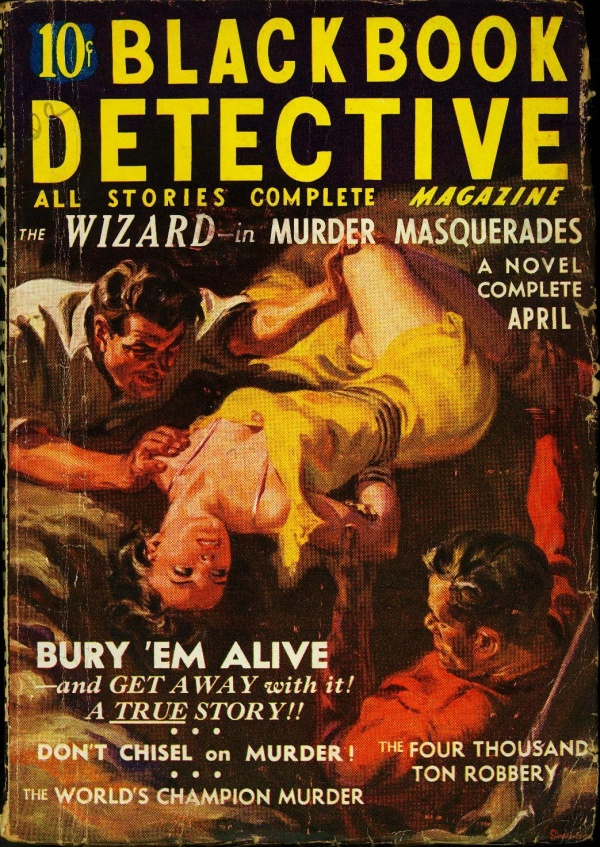 Black Book Detective April 1937