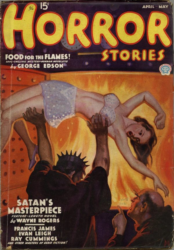 Horror Stories April May 1936