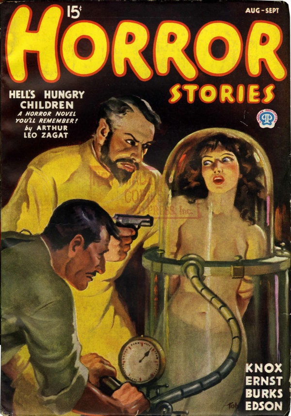 Horror Stories August 1936
