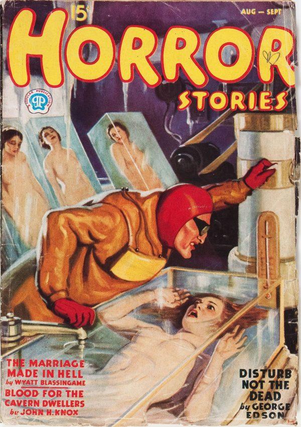 Horror Stories August 1937