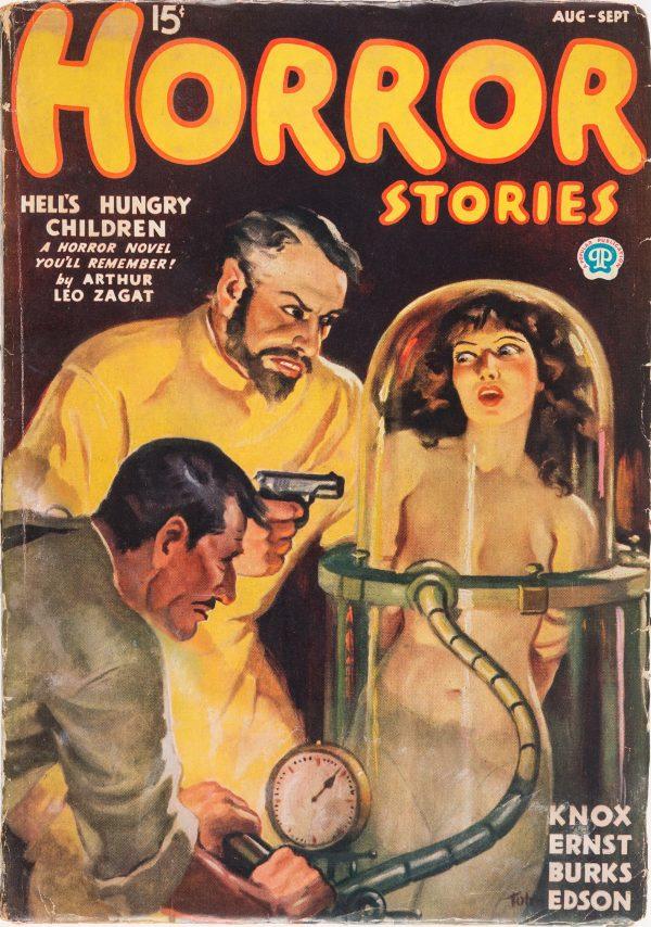 Horror Stories - August September 1936