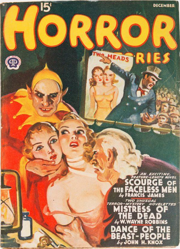 Horror Stories - December 1940