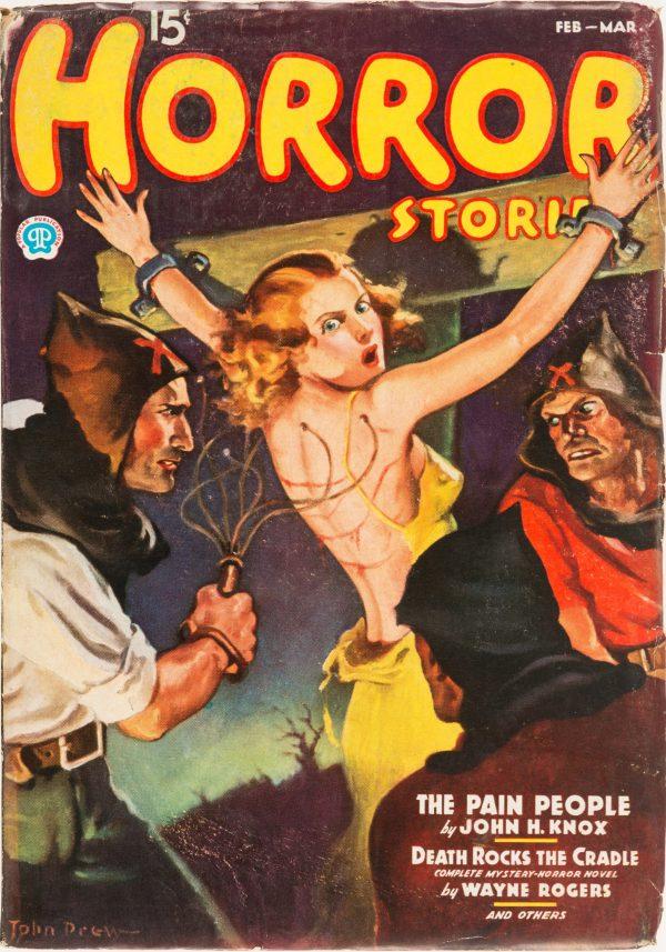 Horror Stories - February 1937