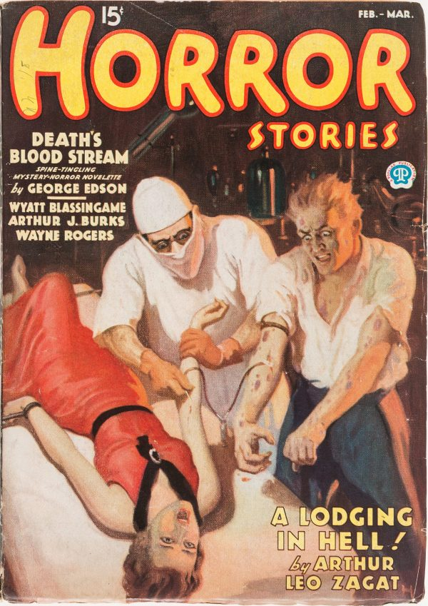 Horror Stories - February March 1936