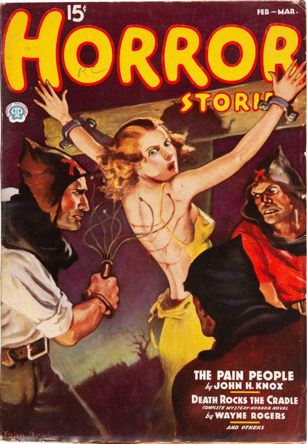Horror Stories - February March 1937