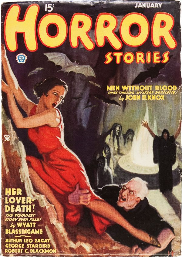 Horror Stories January 1935