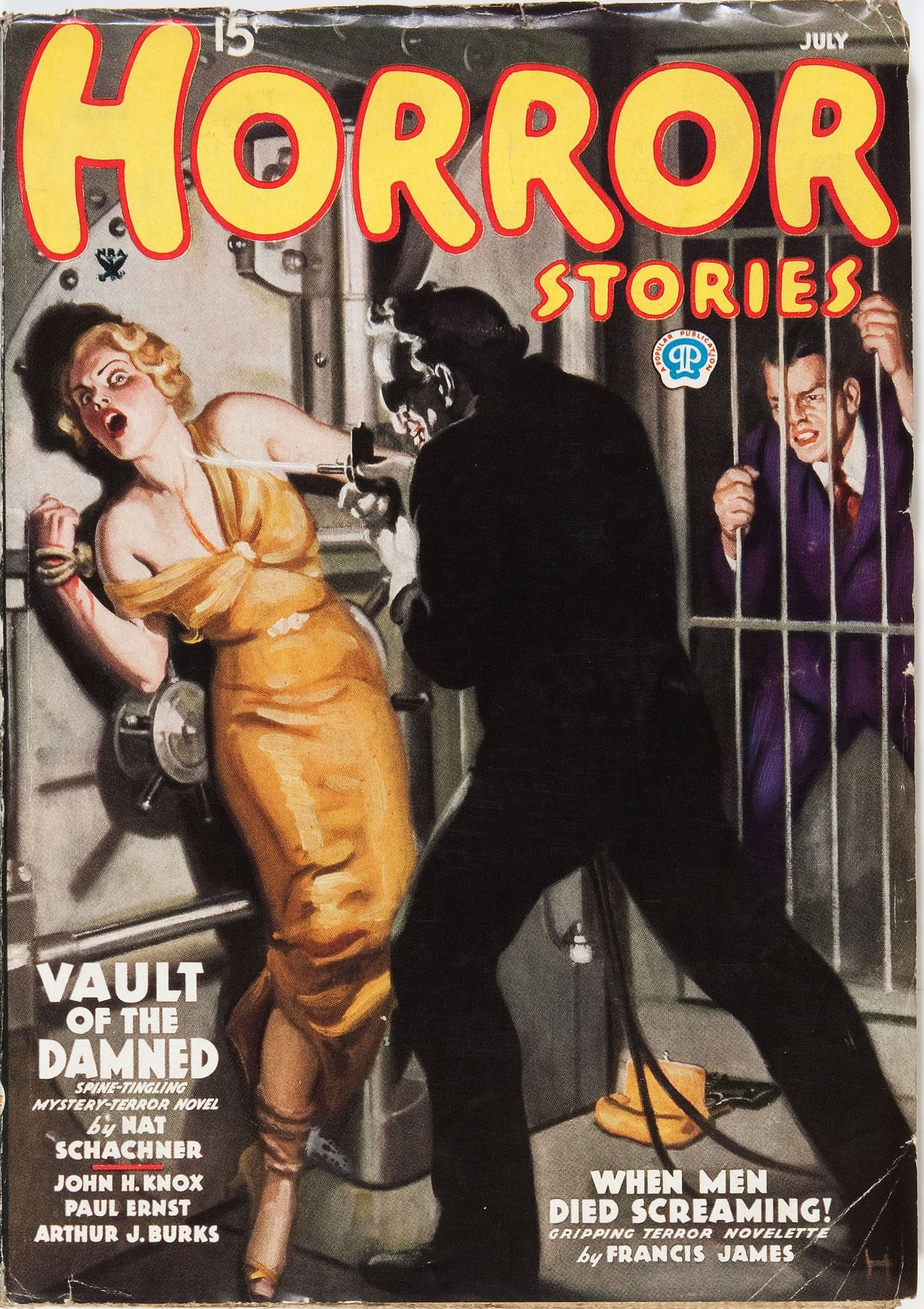 Horror Stories July 1935