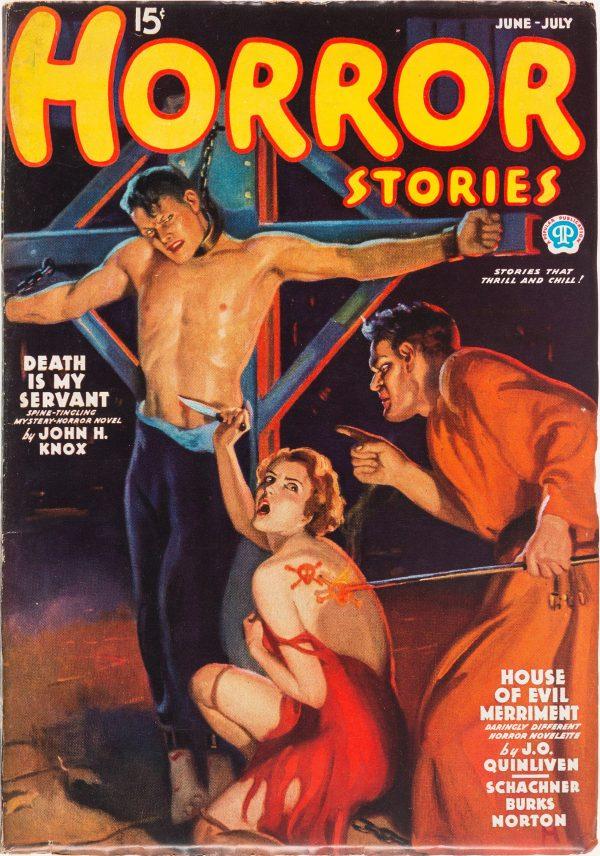 Horror Stories - June - July 1936