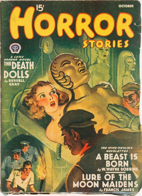 Horror Stories - Oct 1940