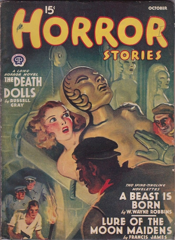 Horror Stories October 1940