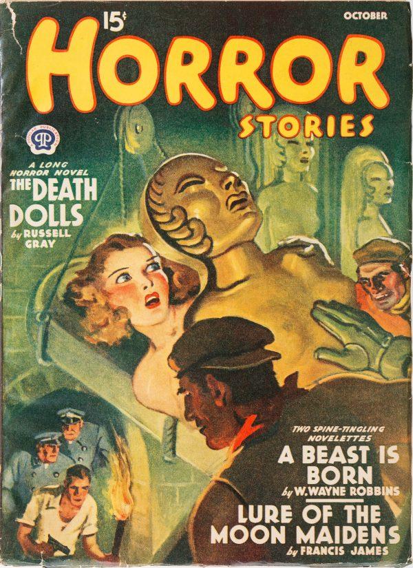 Horror Stories - October November 1940