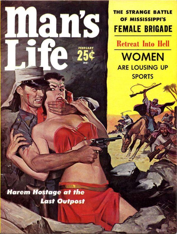 MAN'S LIFE, February 1959