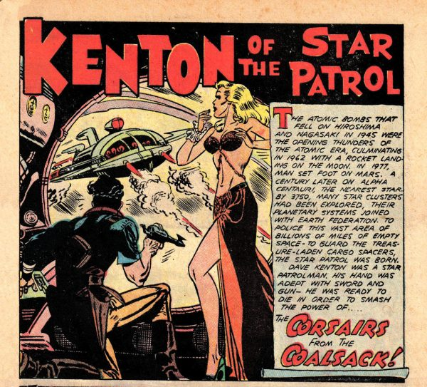 OOTWA 02 - 051 (CS01) Kenton of the Star Patrol (The Corsairs From the Coalsack!) - Joe Kubert