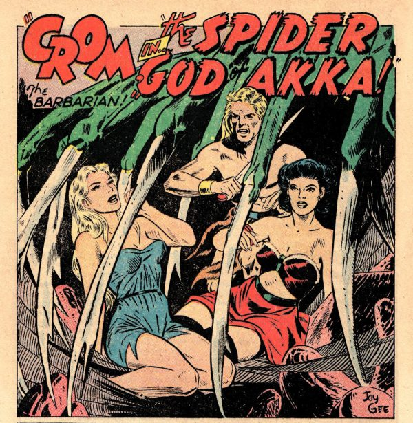 OOTWA 02 - 072 (CS22) Crom the Barbarian in The Spider God of Akka - John Giunta