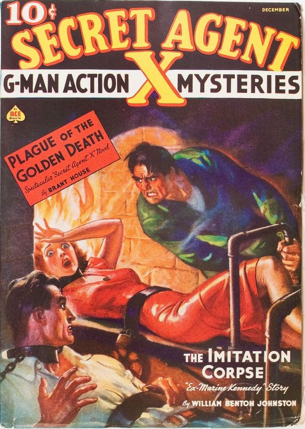 Secret Agent X - December 1937