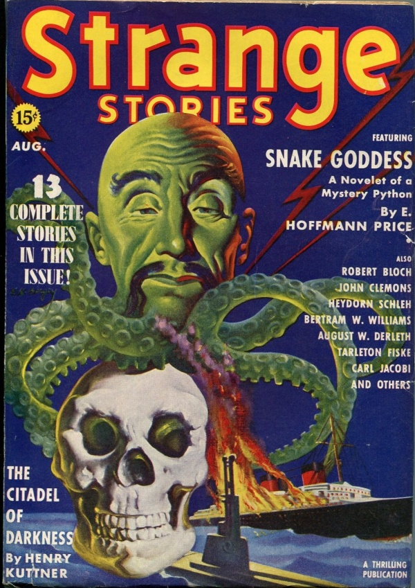 Strange Stories August 1939