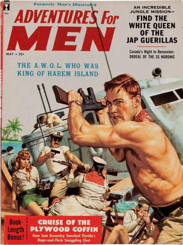 33257097-Adventures_For_Men_magazine_cover,_May_1959