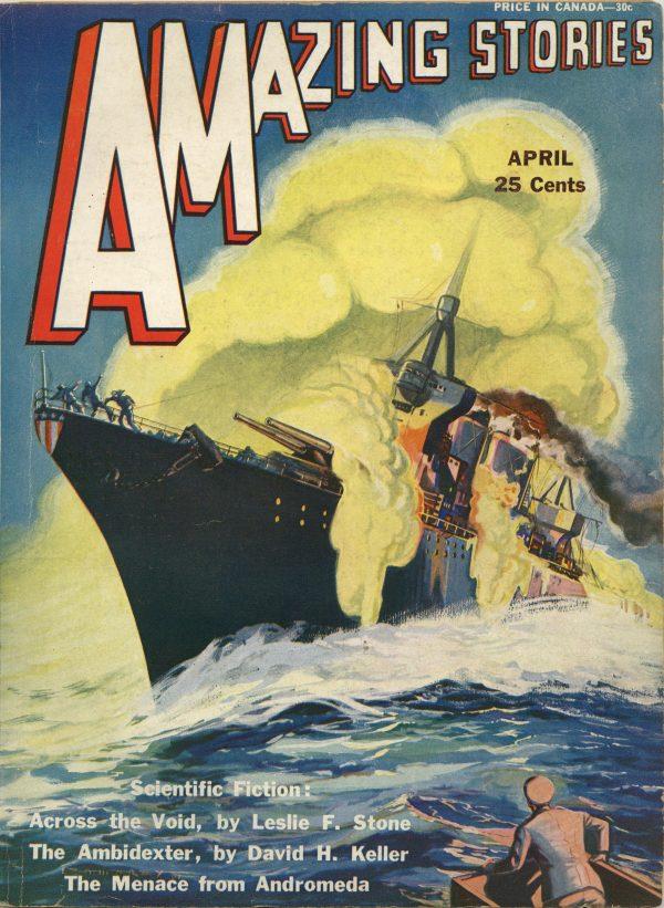 Amazing Stories April 1931