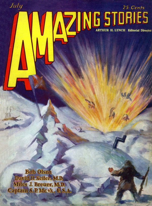 Amazing Stories July 1929