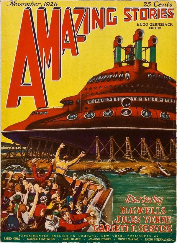 Amazing Stories November 1926