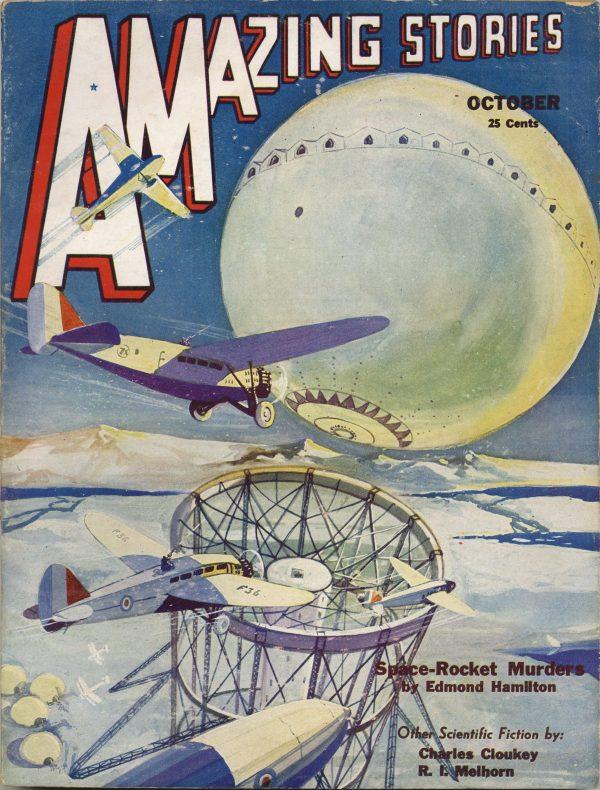 Amazing Stories October 1932