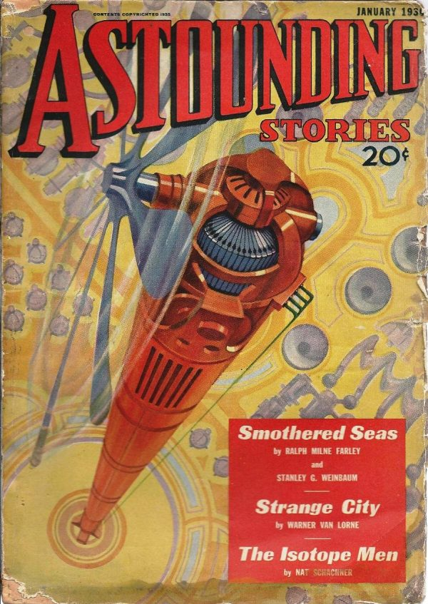 Astounding Science Fiction January 1936