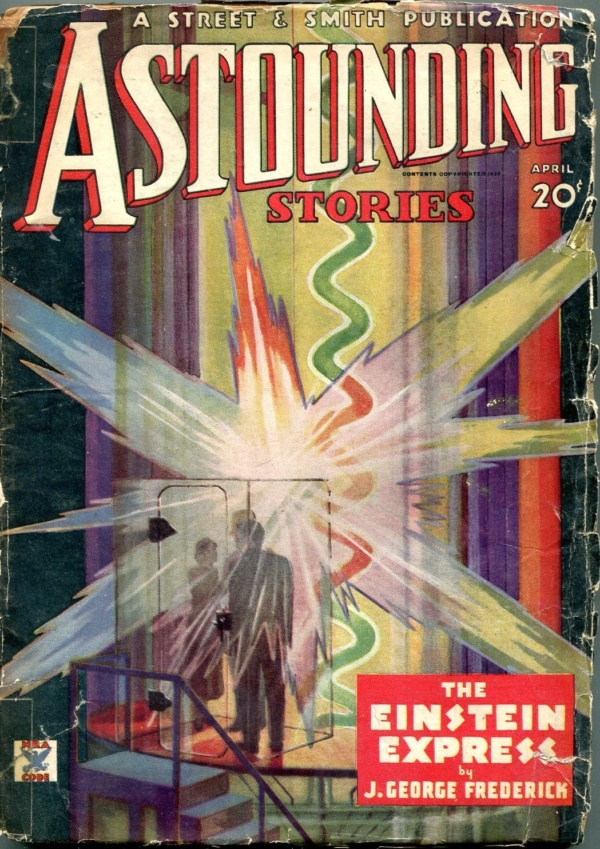 Astounding Stories April 1935