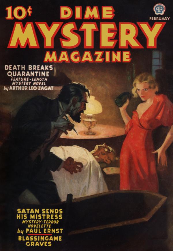 Dime Mystery February 1937