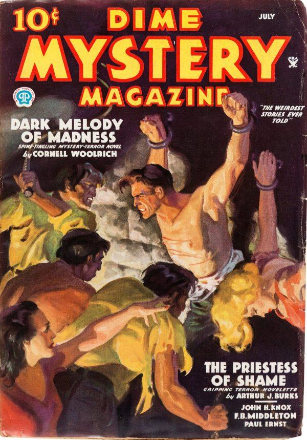 Dime Mystery Magazine - July 1935