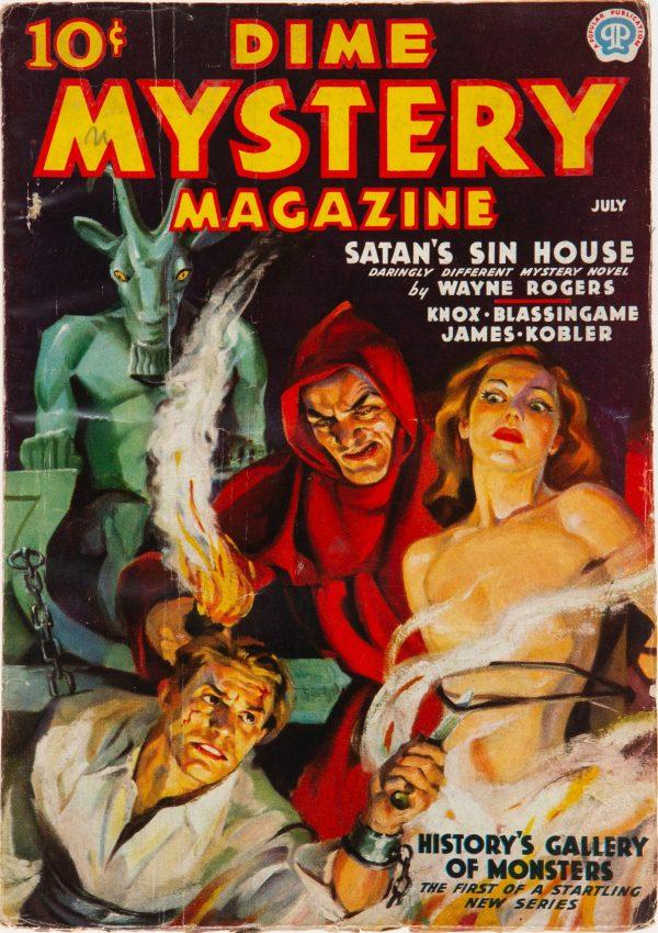 Dime Mystery Magazine - July 1937