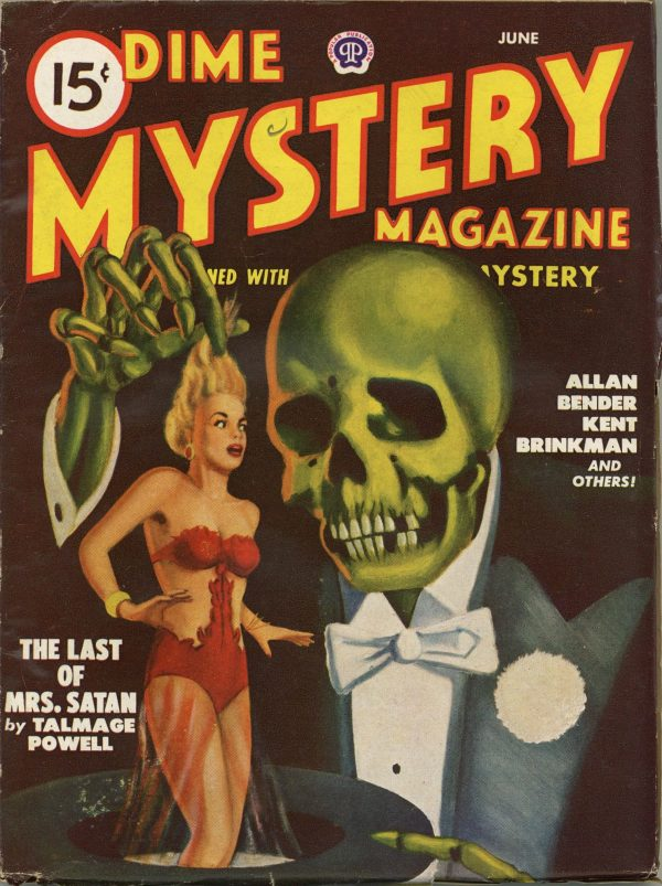 Dime Mystery Magazine June 1948