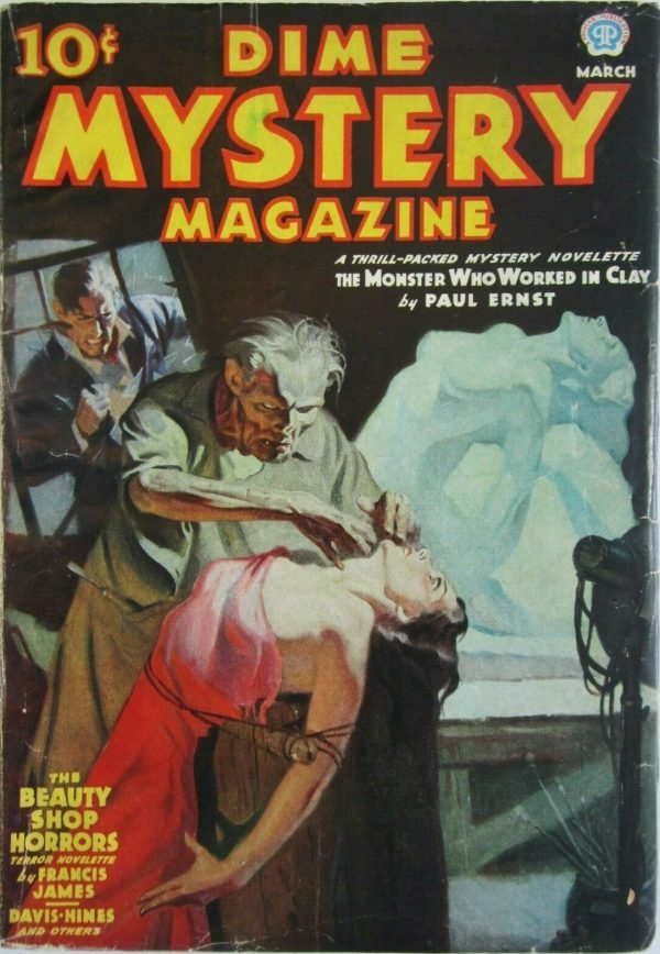 Dime Mystery Magazine March 1937