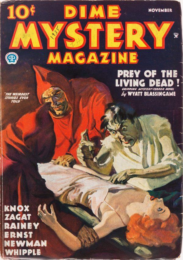 Dime Mystery Magazine - November 1935