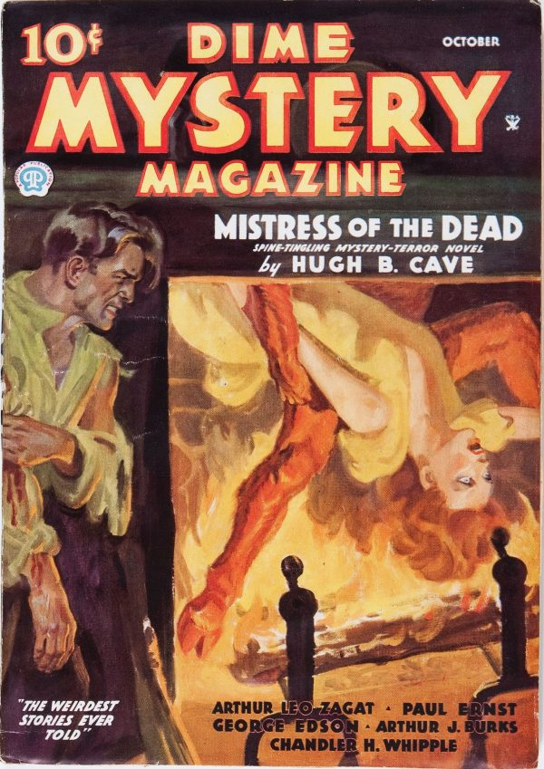 Dime Mystery Magazine - October 1935