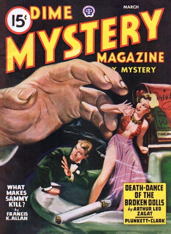 Dime Mystery March 1947