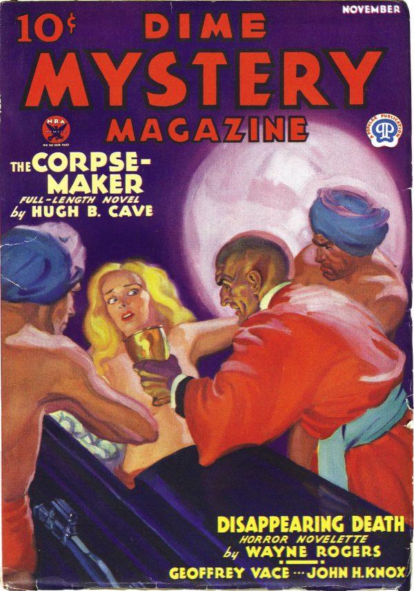 Dime Mystery November 1933