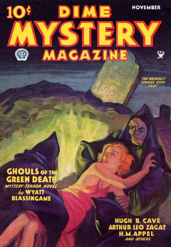 Dime Mystery November 1934