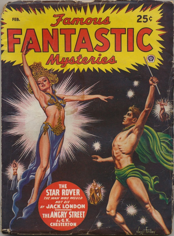 Famous Fantastic Mysteries February 1947