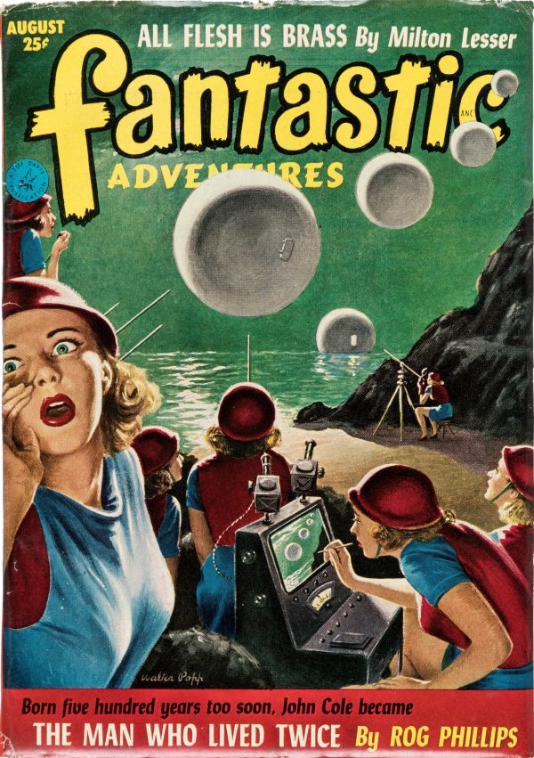 Fantastic Adventures - August 1952