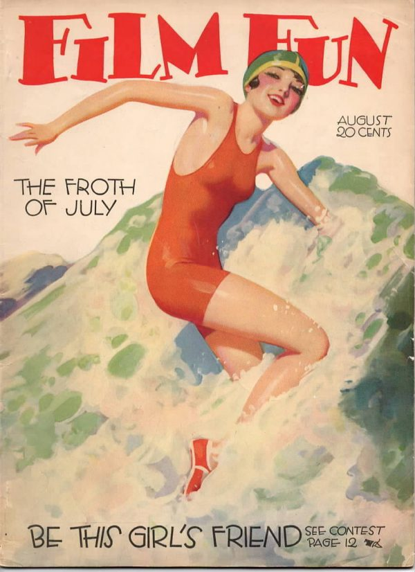 Film Fun Magazine August 1928