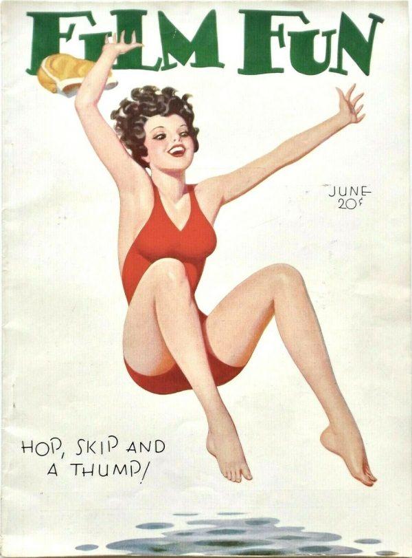 June 1932 Film Fun Magazine