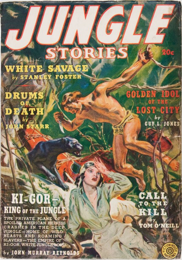 Jungle Stories V1#1  1931