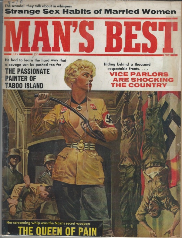 Man's Best July 1962