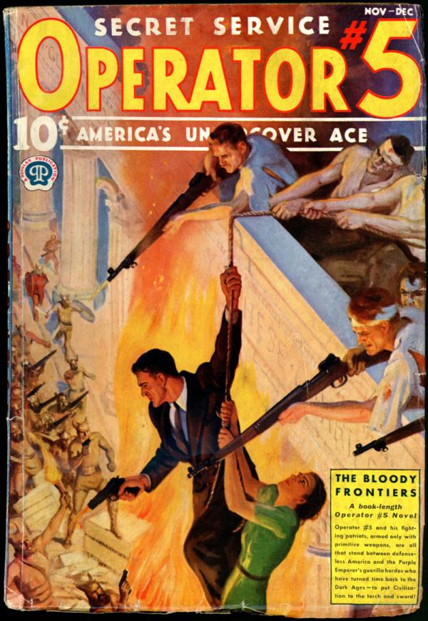 OPERATOR #5. November-December 1937